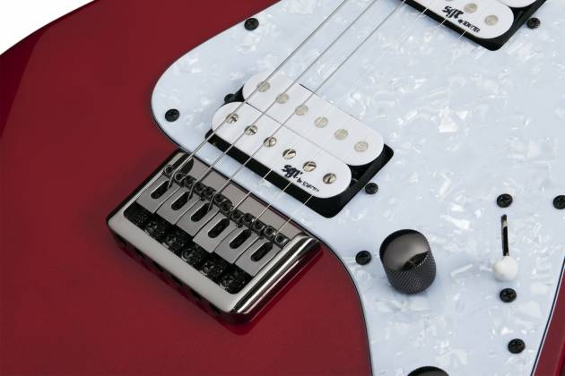 Schecter 3855-SHC Banshee 6 SGR 6 String Electric Guitar - Metallic Red  Product Image 6