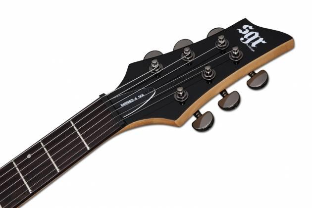 Schecter 3855-SHC Banshee 6 SGR 6 String Electric Guitar - Metallic Red  Product Image 7