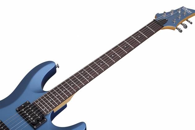 Schecter 431-SHC C-6 Deluxe Solid-Body 6 String RH Electric Guitar - Satin Metallic Light Blue 431-shc Product Image 2