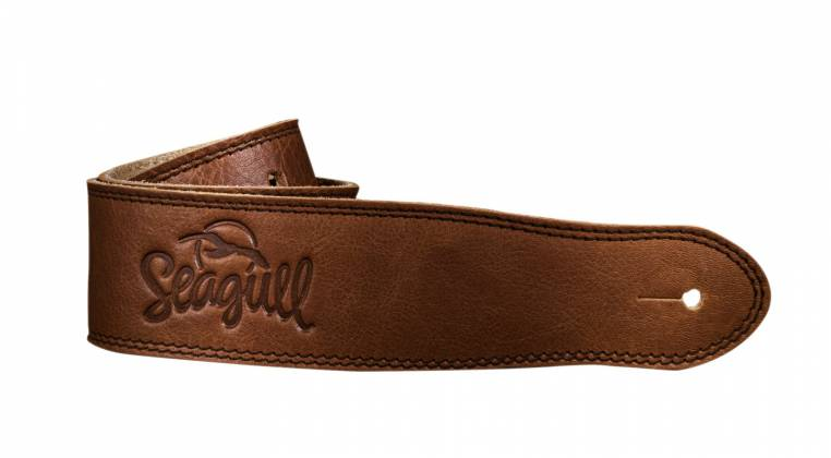 Seagull 042104 The Hollywood Series Cognac Guitar Strap Product Image 2