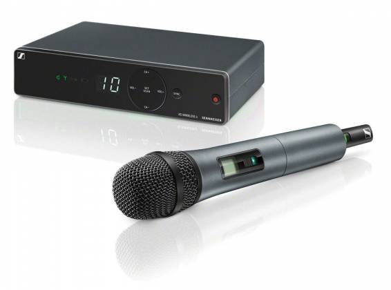 Sennheiser XSW1-835 A Wireless Vocal Set with SKM 835 Mic and EM XSW 1 Receiver (548-572 MHz) Product Image