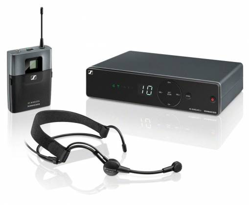 Sennheiser XSW1-ME 3 A Wireless Headmic Set with ME 3-II Headmic and EM XSW 1 Receiver (548-572 MHz) Product Image
