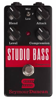 Seymour Duncan 11900-007 Studio Bass Compressor Bass Pedal Product Image 2