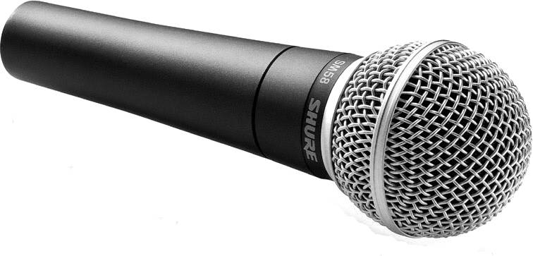 Shure SM58-LC Cardioid Dynamic Microphone (Cable Not Included) Product Image 2