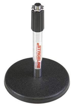 Stageline DS70 Desk Mic Stand in Chrome Product Image 2