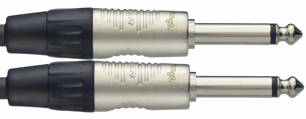 Stagg NGC1.5R N-Series 1.5 Metre Instrument Cable Product Image 3