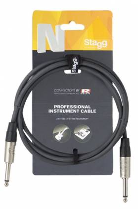 Stagg NGC1.5R N-Series 1.5 Metre Instrument Cable Product Image 4