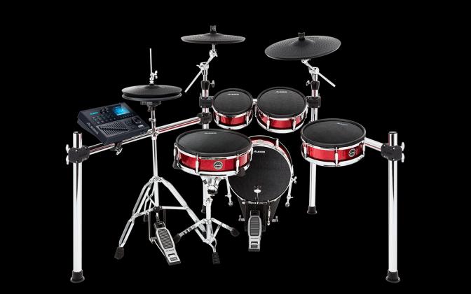 Alesis STRIKEKITXUS Electronic Drum Pro Kit 8 pc with Mesh Heads strike-kit-x-us Product Image 3
