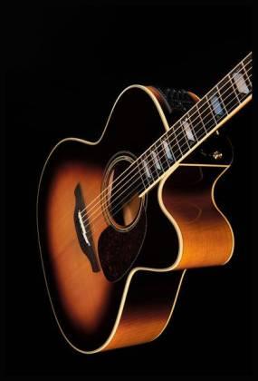 Takamine EF250-TK Pro Series Toby Keith Signature Jumbo 6 String RH Acoustic Electric Guitar with Hard Case-Sunburst Product Image 10