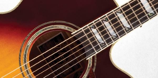 Takamine EF250-TK Pro Series Toby Keith Signature Jumbo 6 String RH Acoustic Electric Guitar with Hard Case-Sunburst Product Image 7