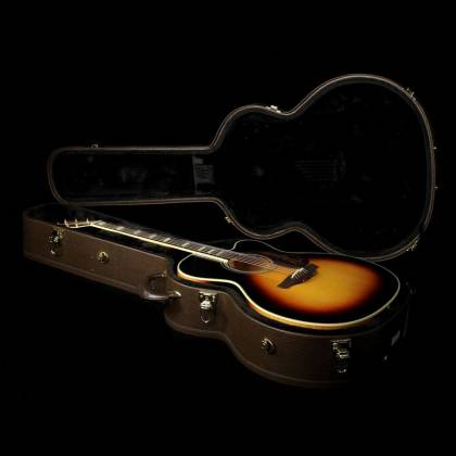 Takamine EF250-TK Pro Series Toby Keith Signature Jumbo 6 String RH Acoustic Electric Guitar with Hard Case-Sunburst Product Image 11