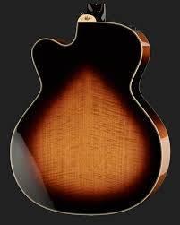 Takamine EF250-TK Pro Series Toby Keith Signature Jumbo 6 String RH Acoustic Electric Guitar with Hard Case-Sunburst Product Image 4