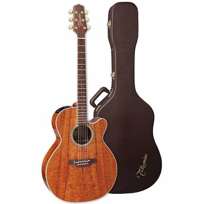 Takamine EF508-KC Legacy Series 6 String RH NEX Koa Acoustic Electric Guitar with Hard Case-Gloss Natural Product Image 11