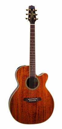Takamine EF508-KC Legacy Series 6 String RH NEX Koa Acoustic Electric Guitar with Hard Case-Gloss Natural Product Image 2