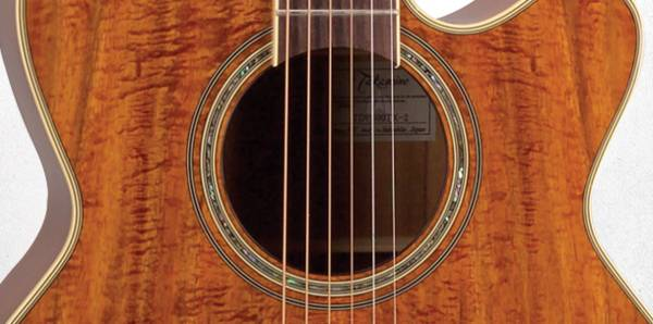 Takamine EF508-KC Legacy Series 6 String RH NEX Koa Acoustic Electric Guitar with Hard Case-Gloss Natural Product Image 6
