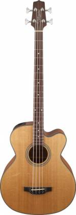 Takamine GB30CE-NAT G-Series Jumbo 4-String RH Acoustic-Electric Bass Guitar-Natural Product Image 2