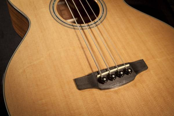Takamine GB30CE-NAT G-Series Jumbo 4-String RH Acoustic-Electric Bass Guitar-Natural Product Image 5
