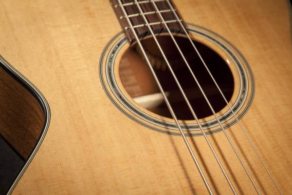 Takamine GB30CE-NAT G-Series Jumbo 4-String RH Acoustic-Electric Bass Guitar-Natural Product Image 6