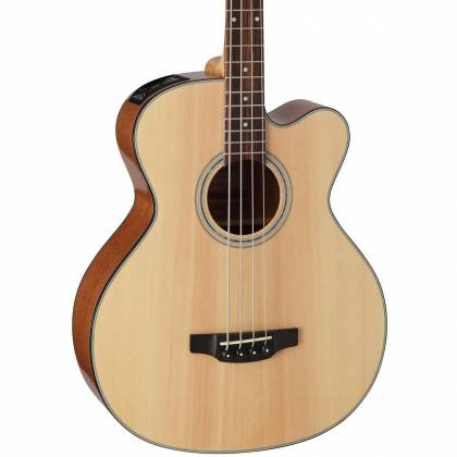 Takamine GB30CE-NAT G-Series Jumbo 4-String RH Acoustic-Electric Bass Guitar-Natural Product Image 3