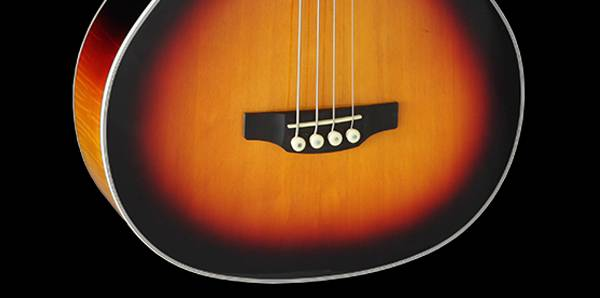 Takamine GB72-CE BSB G-Series Jumbo 4-String RH Acoustic-Electric Bass Guitar-Brown Sunburst Product Image 8