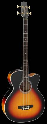 Takamine GB72-CE BSB G-Series Jumbo 4-String RH Acoustic-Electric Bass Guitar-Brown Sunburst Product Image 2