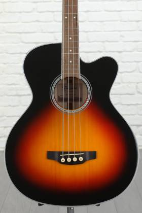 Takamine GB72-CE BSB G-Series Jumbo 4-String RH Acoustic-Electric Bass Guitar-Brown Sunburst Product Image 4