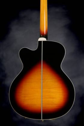 Takamine GB72-CE BSB G-Series Jumbo 4-String RH Acoustic-Electric Bass Guitar-Brown Sunburst Product Image 5