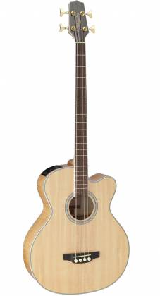 Takamine GB72CE-NAT G-Series Jumbo 4-String RH Acoustic-Electric Bass Guitar-Natural Product Image 2