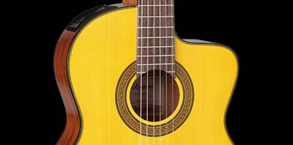 Takamine GC3-CE NAT G-Series Classical 6-String RH Acoustic Electric Guitar-Natural Product Image 6