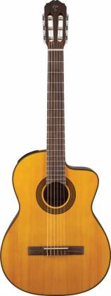 Takamine GC3-CE NAT G-Series Classical 6-String RH Acoustic Electric Guitar-Natural Product Image 2
