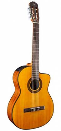 Takamine GC3-CE NAT G-Series Classical 6-String RH Acoustic Electric Guitar-Natural Product Image 3