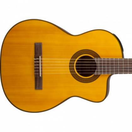 Takamine GC3-CE NAT G-Series Classical 6-String RH Acoustic Electric Guitar-Natural Product Image 5