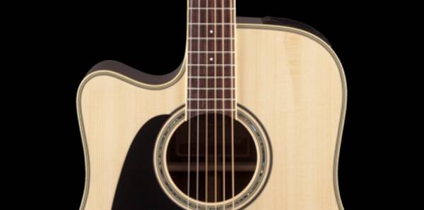 Takamine GD51CELH-NAT G-Series 6-String LH Dreadnought Acoustic Electric Guitar-Natural Product Image 3