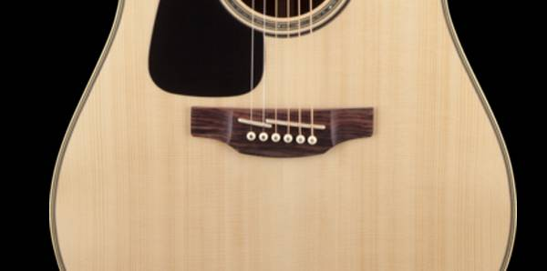 Takamine GD51CELH-NAT G-Series 6-String LH Dreadnought Acoustic Electric Guitar-Natural Product Image 4