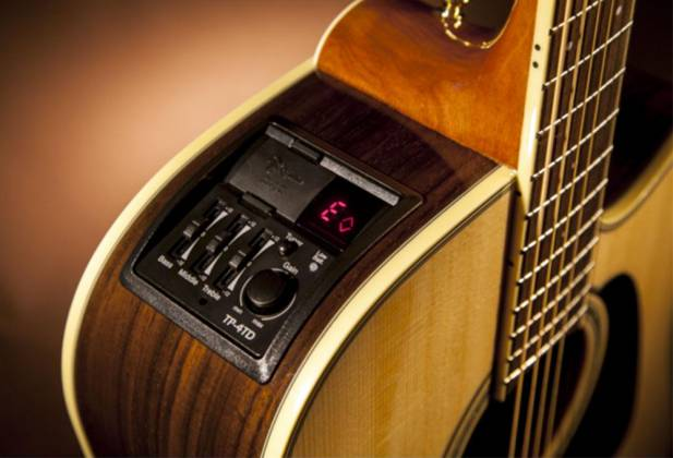 Takamine GD51CELH-NAT G-Series 6-String LH Dreadnought Acoustic Electric Guitar-Natural Product Image 5