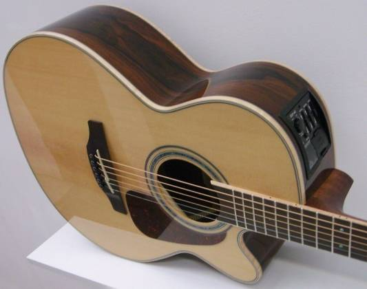 Takamine GN90CE-ZC G-Series NEX 6-String RH Acoustic Electric Guitar-Gloss Natural Product Image 4
