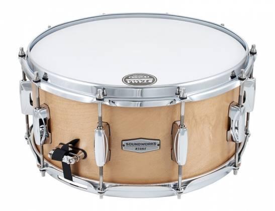 "Tama DMP1465-MVM Soundworks Maple 6.5"" x 14"" Snare Drum-Matte Vintage Product Image 2"