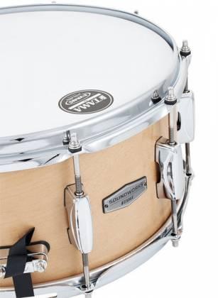 "Tama DMP1465-MVM Soundworks Maple 6.5"" x 14"" Snare Drum-Matte Vintage Product Image 5"