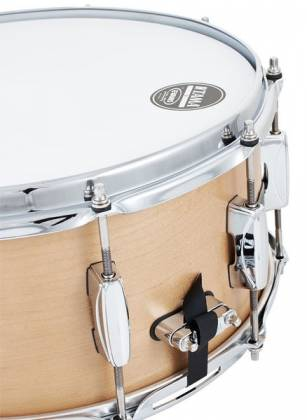 "Tama DMP1465-MVM Soundworks Maple 6.5"" x 14"" Snare Drum-Matte Vintage Product Image 7"