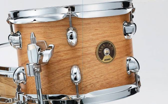 Tama LJL48H4-SBO Club Jam 4-Piece Drum Kit complete with Hardware and Throne (open box clearance display model) Product Image 2