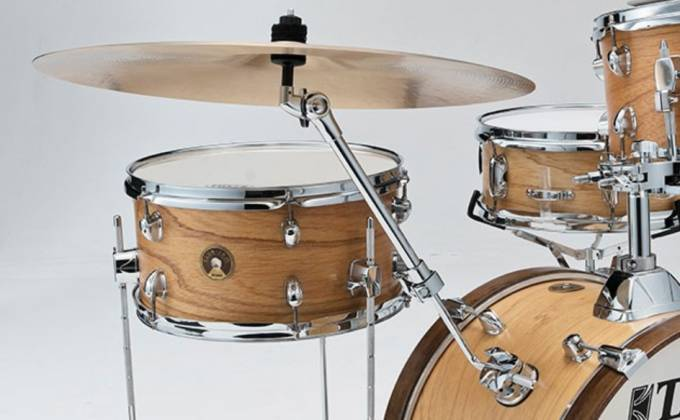 Tama LJL48H4-SBO Club Jam 4-Piece Drum Kit complete with Hardware and Throne (open box clearance display model) Product Image 3