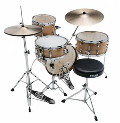 Tama LJL48H4-SBO Club Jam 4-Piece Drum Kit complete with Hardware and Throne (open box clearance display model) Product Image 5