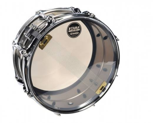"Tama LST1365 S.L.P. Sonic Steel 6.5"" x 13"" Snare Drum (discontinued clearance) Product Image 3"