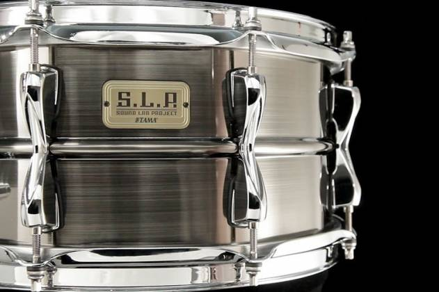 "Tama LST1365 S.L.P. Sonic Steel 6.5"" x 13"" Snare Drum (discontinued clearance) Product Image 4"
