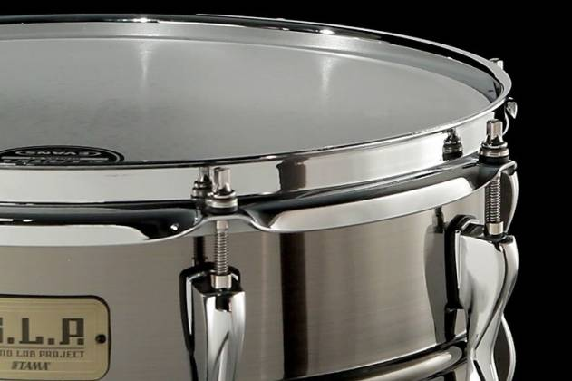 "Tama LST1365 S.L.P. Sonic Steel 6.5"" x 13"" Snare Drum (discontinued clearance) Product Image 5"