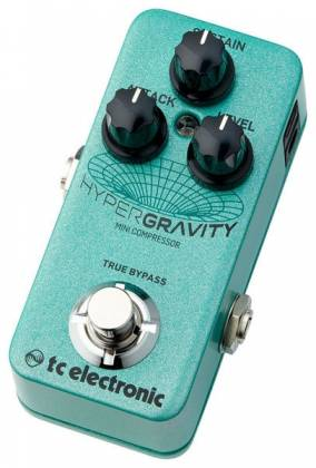 TC Electronic HYPER G COMP MINI HyperGravity Mini Compressor Guitar Effects Pedal hyper-g-comp-mini Product Image