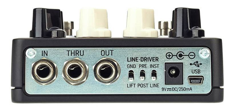 TC Electronic SPECTRADRIVE Bass Preamp and Drive Pedal with TubeDrive and TonePrints Product Image 5