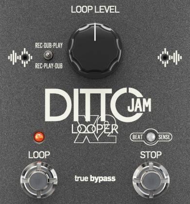 TC Electronic Ditto Jam X2 Looper *NEW* t.c x 2 electronics pedal flashback x4