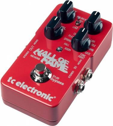 TC Electronic Hall of Fame Reverb Guitar Effects Pedal (discontinued clearance) Product Image 2