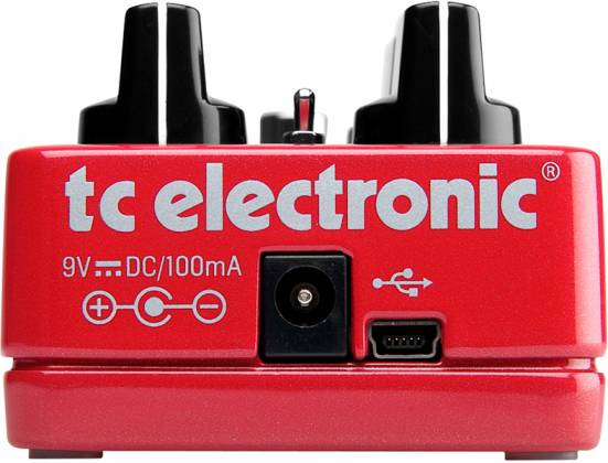 TC Electronic Hall of Fame Reverb Guitar Effects Pedal (discontinued clearance) Product Image 4